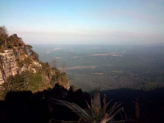 Mpumalanga, Afrika Selatan: God's Window View