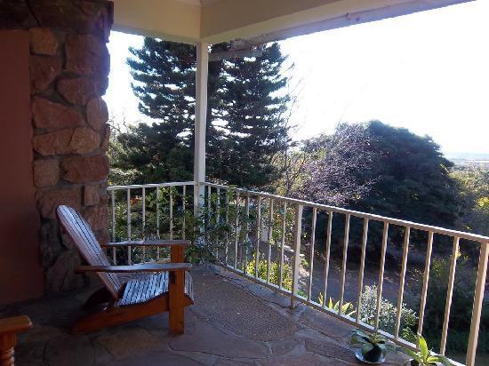 Cheetah Lodge: Great balcony for Cheetah Cub Room