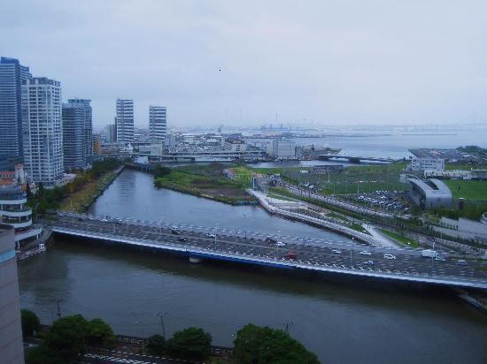 Skyspa Yokohama: 15階からの眺め