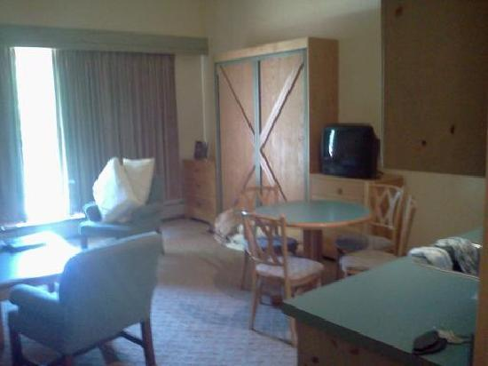 Rock Creek Resort: the murphy bed!