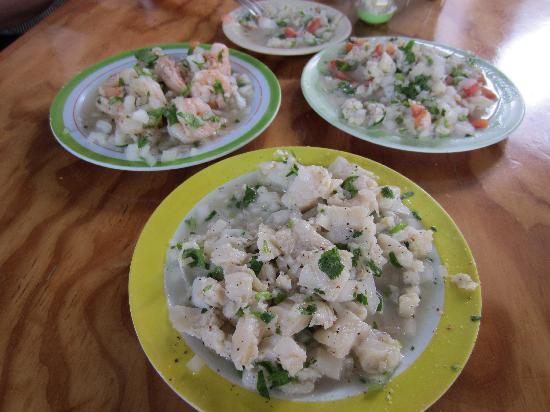 Pescaderia San Carlos: Fish, Shrimp & Conch Ceviche