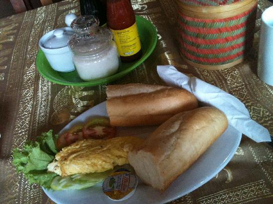 Angkor Voyage Villa: The food here is delicious!
