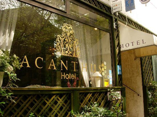 Acanthushotel: Pretty exterior of hotel
