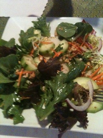 Thai Orchid Cuisine : cucumber salad = awesome
