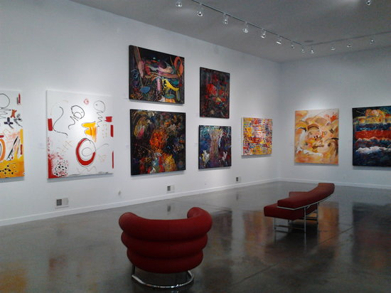 DM Weil Gallery: inside the gallery
