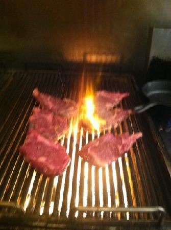 La Strada wood burning grill