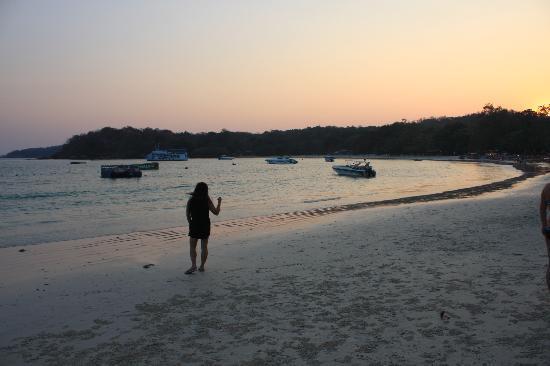 Samed Cabana Resort : beach
