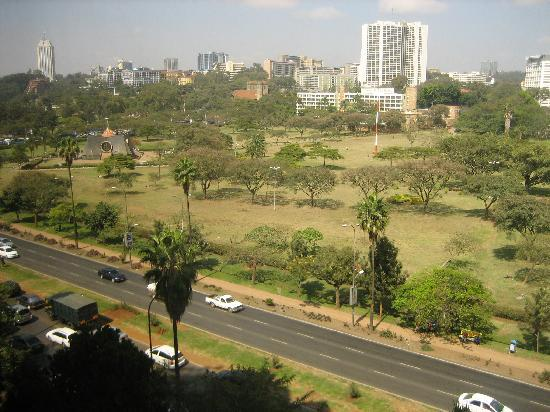 LAICO Regency Hotel: View from room window