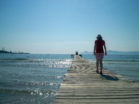 Eix Alcudia Hotel - Adults Only: Lovely view of sea!