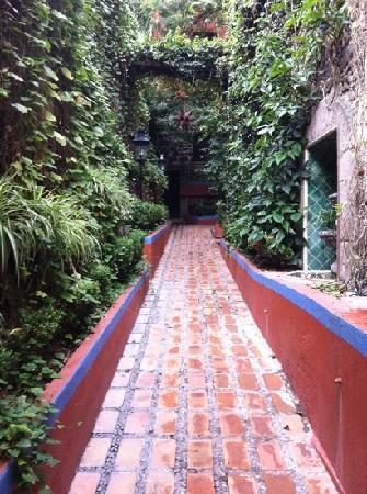 Hacienda de Las Flores: La entrada