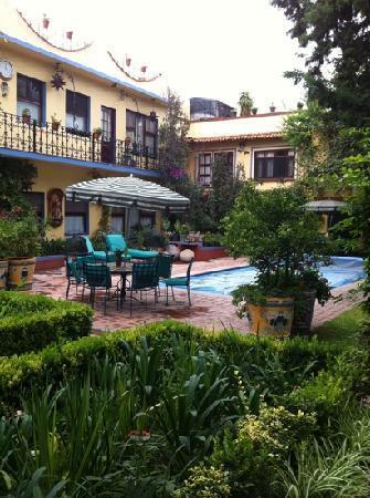 Hacienda de Las Flores: el jardín