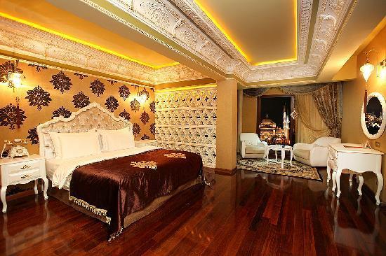 Deluxe Golden Horn Sultanahmet Hotel : Suite Room