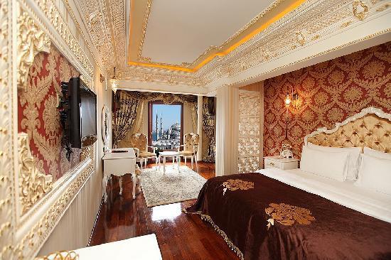 Deluxe Golden Horn Sultanahmet Hotel: De Luxe Room