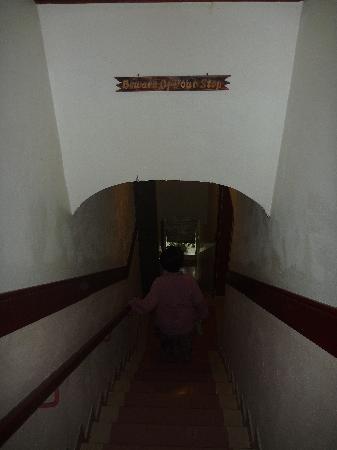 Hotel London: plenty of stairs