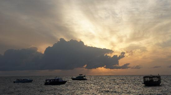 Dhevanafushi Maldives Luxury Resort Managed by AccorHotels: sun rise