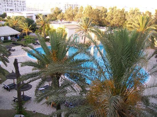 Hotel Almaz: Vue de la chambre