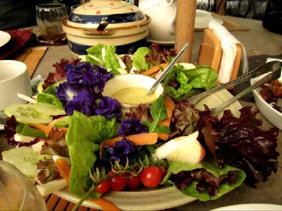 Casa Rap: garden salad