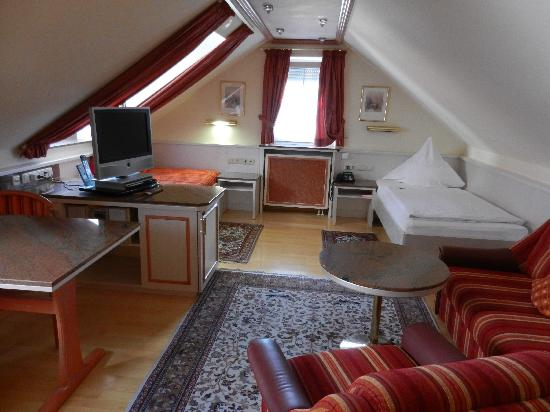 Appartement Pension Zum Zacherl: My amazing room #331