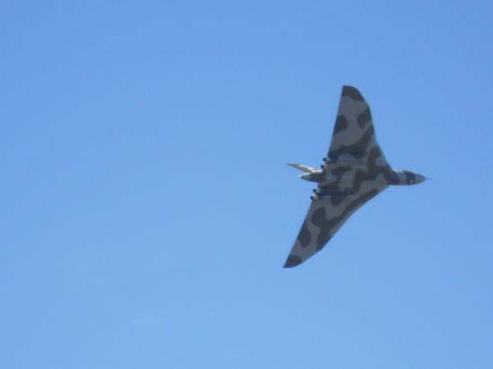 Southport, UK: vulcan bomber