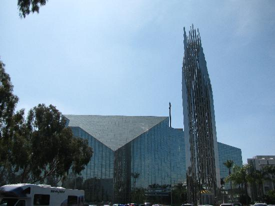 Garden Grove, CA: outside the cathedral