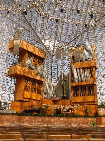 Crystal Cathedral: the stage area