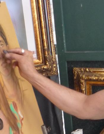 Auberge du Tresor: Quel artiste !