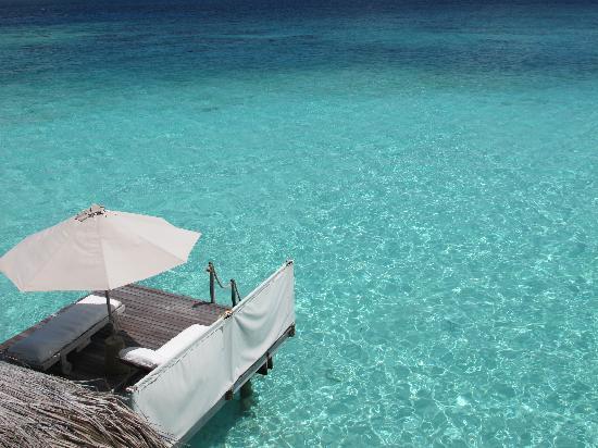 Gili Lankanfushi: la laguna siempre vacía