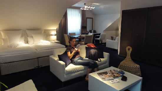 Hotel Savoy: Double-bedroom suite