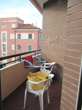 Hotel Cristina: Balcone
