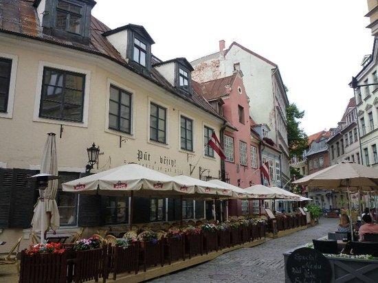 Neiburgs Restaurant: Blick von der Terrasse