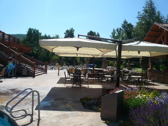 The Villas at Snowmass Club: Pool area
