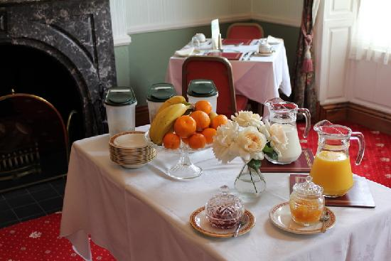 Kirkgate House Hotel: A Tempting Breakfast