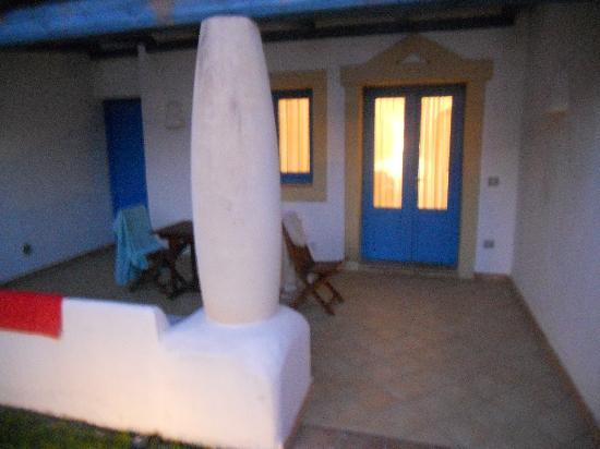 Residence Marsa Sicla: La veranda del piano terra