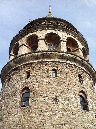 Pitti Teras: galata tower from pitti