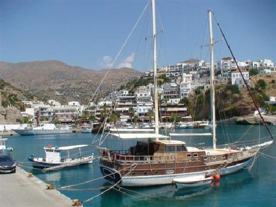 Hotel Areti: port Agia Galini