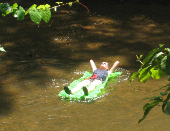 Etowah River Campground: float down the river