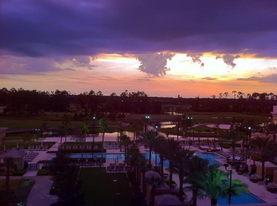 Waldorf Astoria Orlando: our view from suite