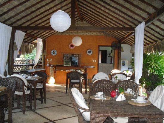 Pousada Maxitalia: sala ristorante