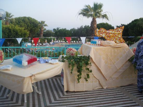 Club Alicudi Hotel : soirée 14 juillet