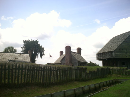 Fort King George Historic Site : Ft. King George