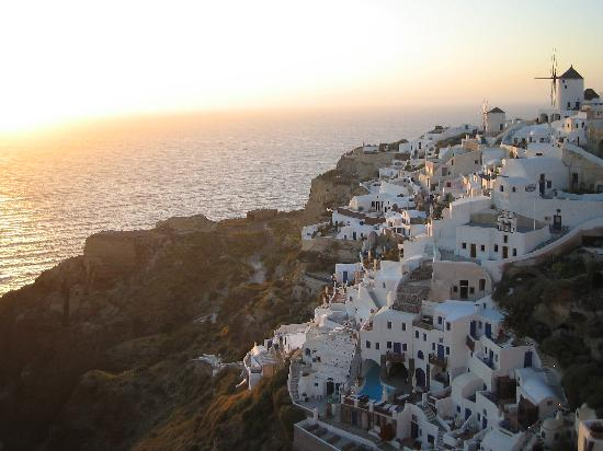 Oia, Greece: tramonto