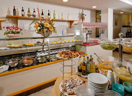 Hotel Olympic: Buffet