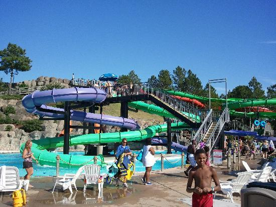 Ocean Breeze Waterpark Slides