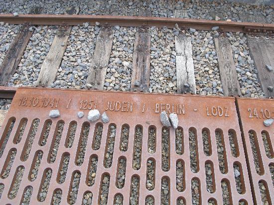The Berlin Expert: Holocaust deportation monument
