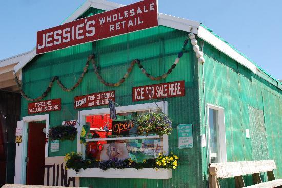 Ilwaco, WA: Fish Market