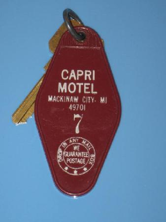 Capri Motel: Key