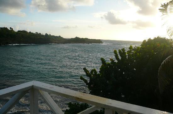 Cabier Ocean Lodge: bout au vent
