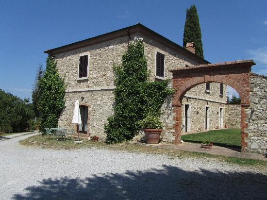 Podere Sant'Alessandro : The apartments...
