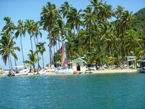 Location St Lucia In Caribbean: Marigot Bay...where They Have Filmed Pirates Of The