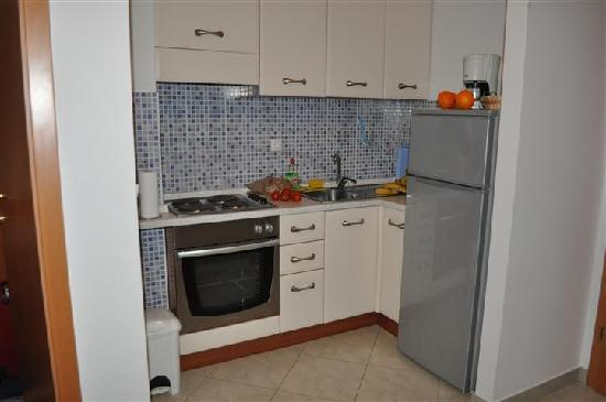 Apartmani Trogir: Kitchen